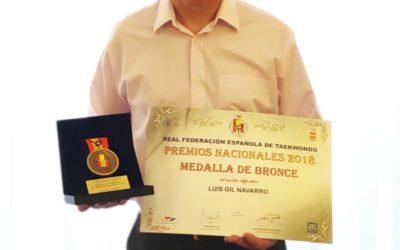 Taekwondo galardonado